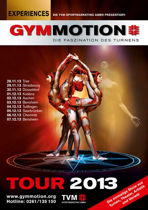 Gymmotion 2013 - Experiences